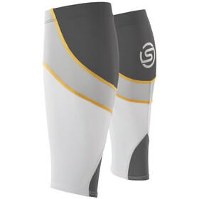 Skins Unisex MX Calf Tights White/Pewter